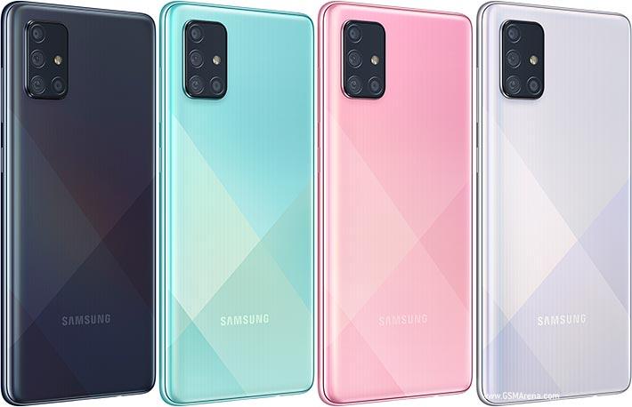 گوشی موبایل سامسونگ مدل Galaxy A71 ظرفیت 128 گیگابایت
