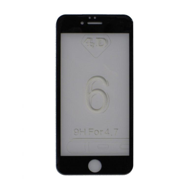 محافظ صفحه نمایش 4D بوف مدل B4I6 مناسب برای گوشی موبایل اپل iPhone 6