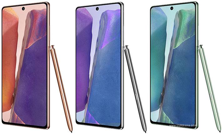 گوشی موبایل سامسونگ مدل Galaxy Note 20 ظرفیت 256 گیگابایت