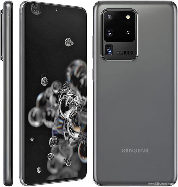 گوشی موبایل سامسونگ مدل Galaxy S20 Ultra ظرفیت 128 گیگابایت