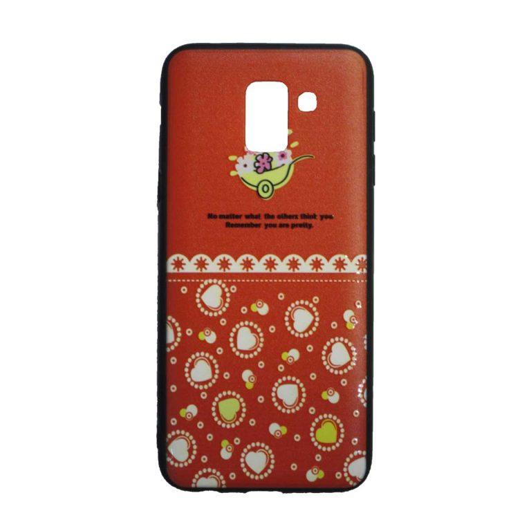 کاور مدل FC4GJ6 مناسب برای گوشی موبایل سامسونگ Galaxy J6
