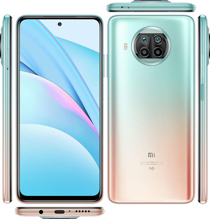 گوشی موبایل شیائومی مدل Mi 10T Lite 5G ظرفیت 64 گیگابایت رم 6 گیگابایت