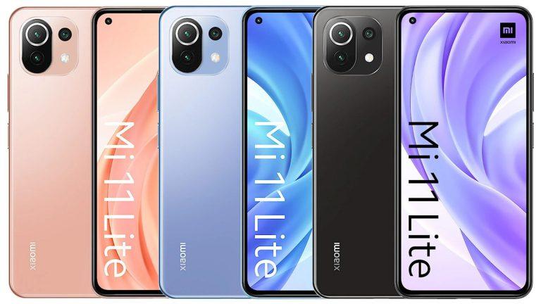گوشی موبایل شیائومی مدل Mi 11 Lite ظرفیت 128 گیگابایت رم 6 گیگابایت