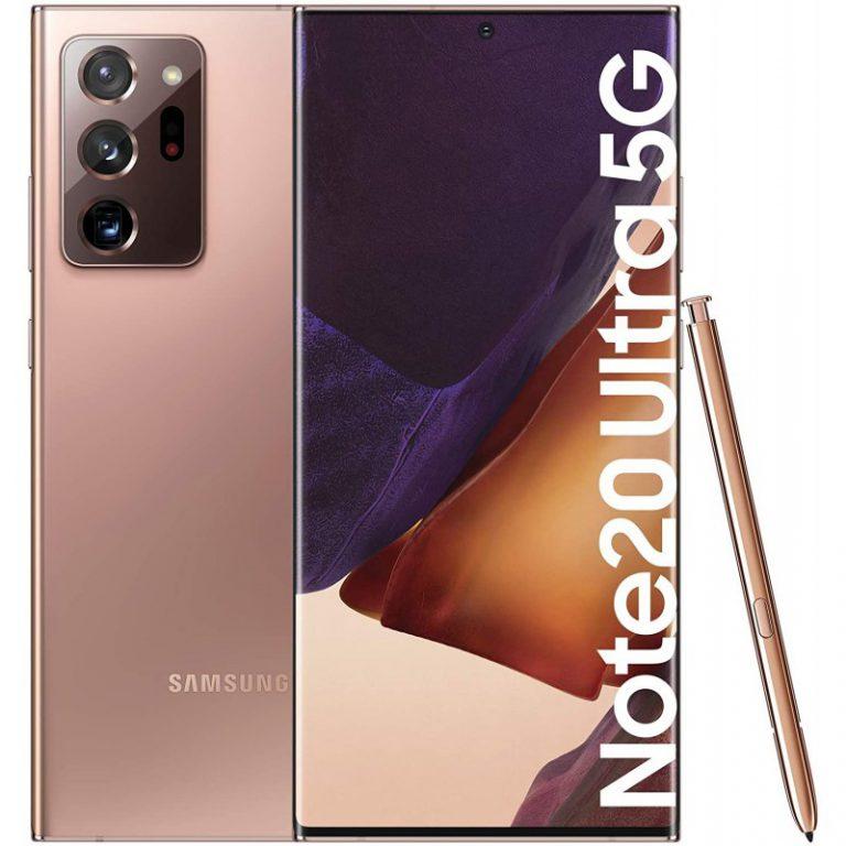 گوشی موبایل سامسونگ مدل Galaxy Note 20 Ultra 5G ظرفیت 256 گیگابایت رم 12 گیگابایت