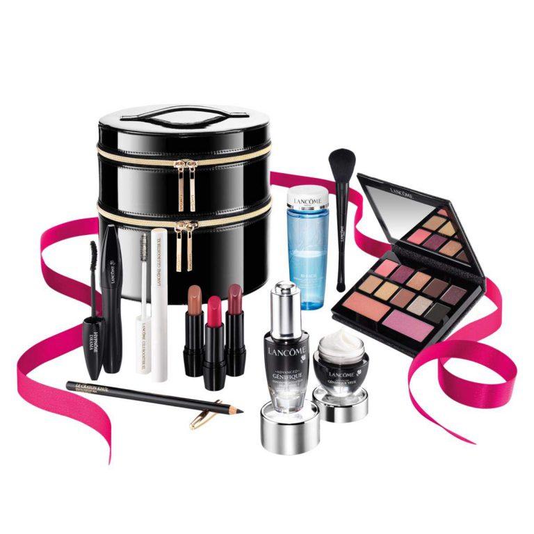 پک 11 عددی لوازم آرایشی و مراقبت از پوست لانکوم Holiday Beauty Box