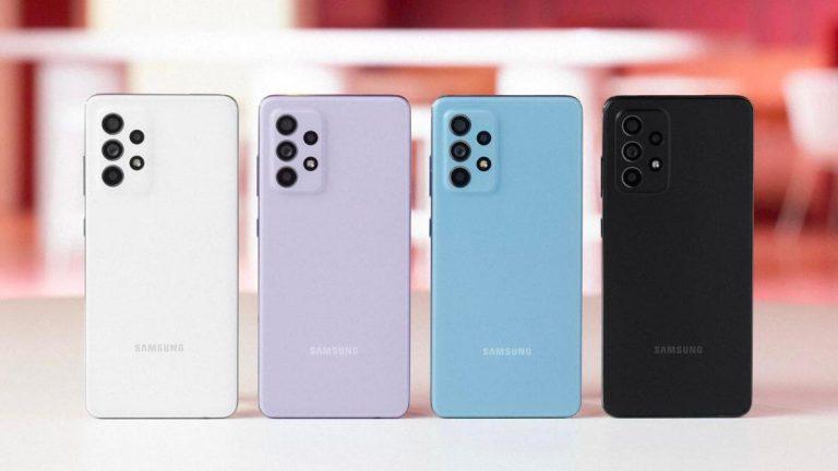 گوشی موبایل سامسونگ مدل Galaxy A52 ظرفیت 128 گیگابایت رم 8 گیگابایت
